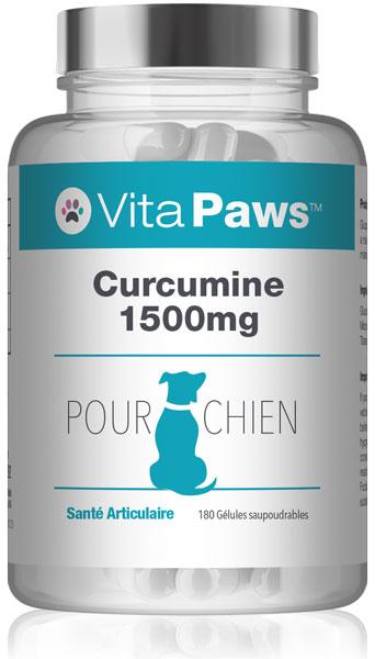 vitapaws/complements-pour-chien/curcumine-1500mg-pour-chien