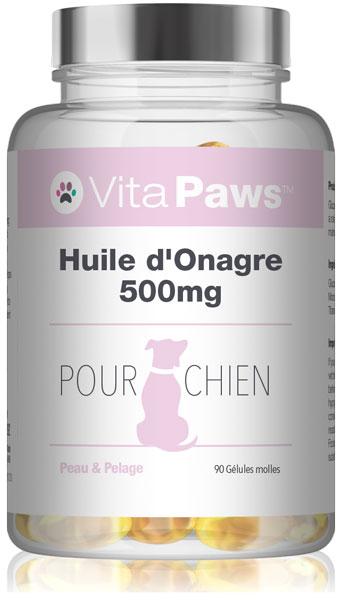 vitapaws/complements-pour-chien/huile-donagre-500mg-pour-chien